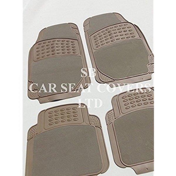Chrysler Pt Cruiser Beige Luxe 2210 Pvc Tapis De Sol Caoutchouc