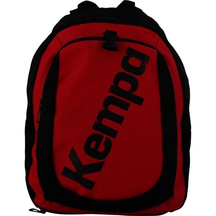 5c28eb03fe KEMPA Sac de Sport Backpack Mixte Noir et Rouge feu - Prix pas cher ...