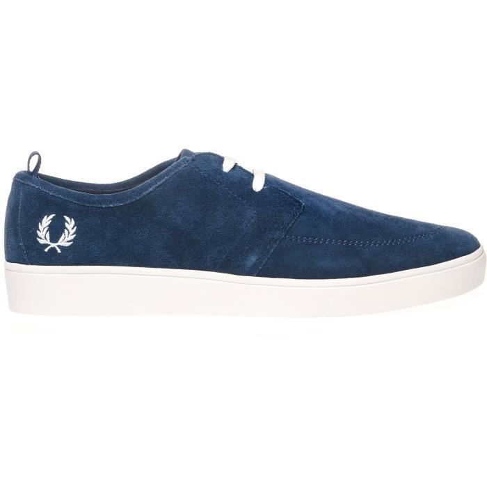 Fred Perry Sneakers bleu Homme