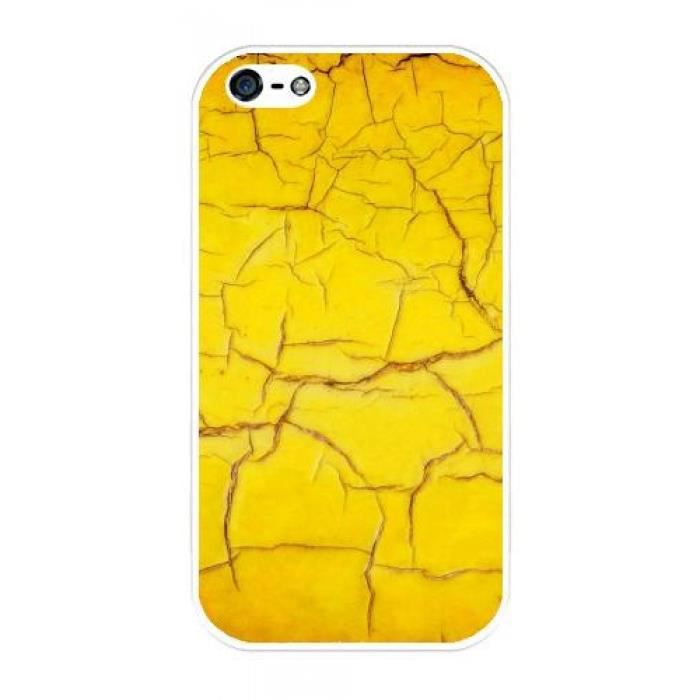 coque iphone 4 jaune