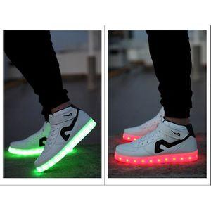 7 Couleur LED rechargeable Salut-Haut Light-Up ... xRPv5