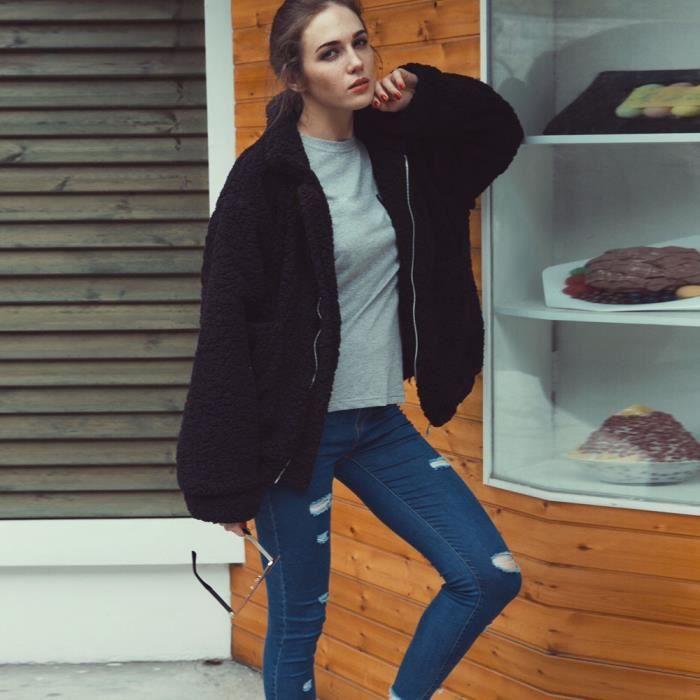 Décontracté Pachasky®manteau Parka D'hiver Outwear Rwq7012 Femme Pour rr4aWxdq