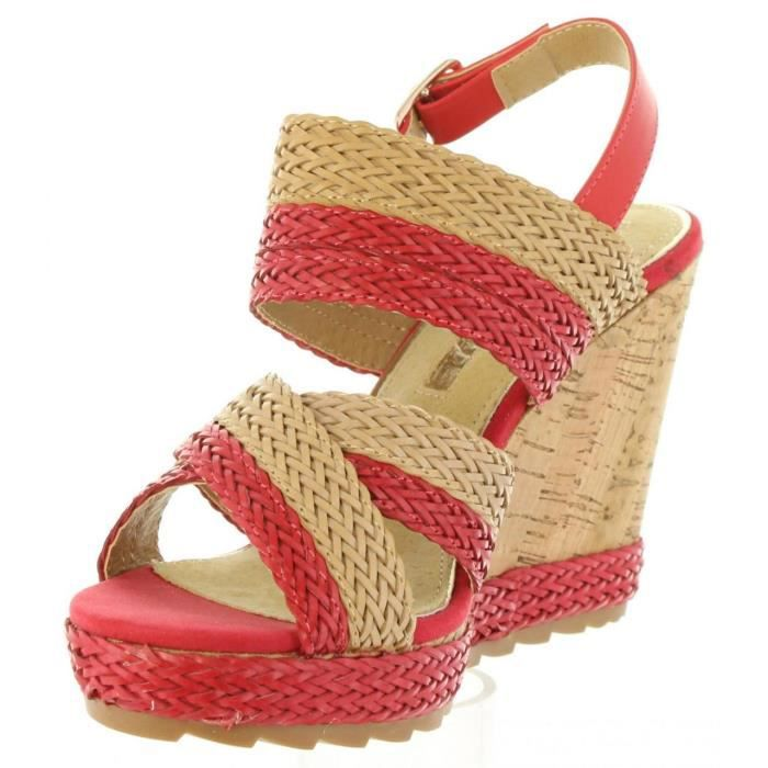 Sandales pour Femme MARIA MARE 66794 C31123 BRAIDED ROJO