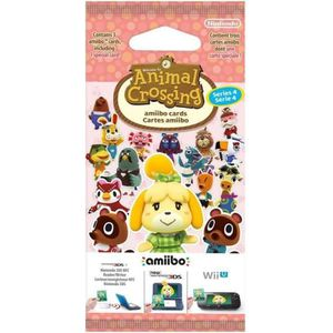 Paquet de 3 cartes Animal Crossing Série 4