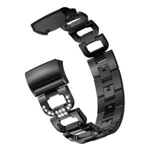 BRACELET DE MONTRE D Mot Bracelets Métal remplacement cristal sangles