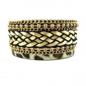 BRACELET - GOURMETTE Semainier Bracelet 7 joncs plats 6.5 cm diamètre O