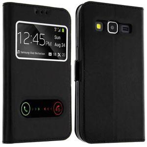 HOUSSE - ÉTUI Etui housse folio à fenetres Samsung Galaxy S6 edg fc35d717cd1