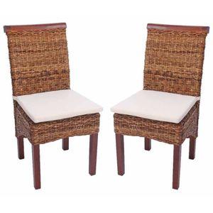 chaises bois osier achat vente chaises bois osier pas cher cdiscount. Black Bedroom Furniture Sets. Home Design Ideas