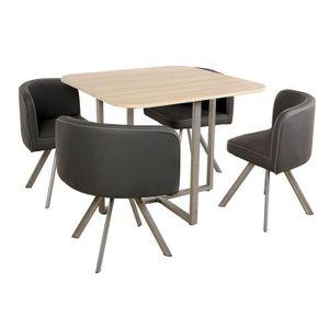 table a manger 2 personnes achat vente table a manger 2 personnes pas cher cdiscount. Black Bedroom Furniture Sets. Home Design Ideas