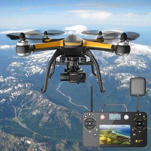 DRONE Drone rc, Hubsan temps réel 2.4GHz + 5.8GHz PRO, 1