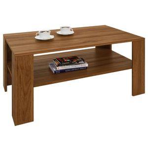 table basse noyer achat vente pas cher. Black Bedroom Furniture Sets. Home Design Ideas