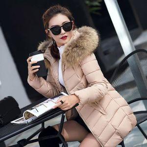 DOUDOUNE Mode hiver femmes veste longue épaisse couche minc 1271688b2997