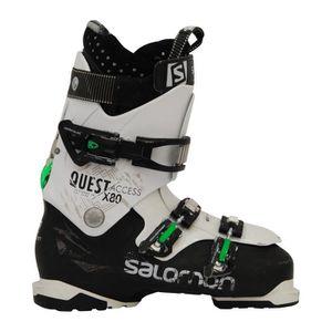 CHAUSSURES DE SKI Chaussures de ski Salomon Quest access X80 blanc/n
