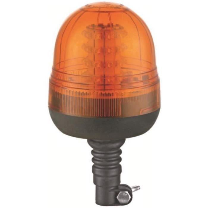 JBM Gyrophare LED 12-24 Volt Base Flexible