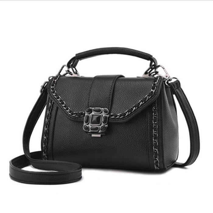77643ce0a2419 sac marque cartable femme femmes noir sacs à main en cuir sac a bandouliere  femme sac à main De Luxe Femmes Sacs Designer sac cuir