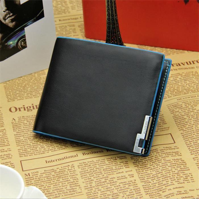 mode designer e3ba4 3911c portefeuille homme luxe porte monnaie agréable portefeuille homme luxe  porte monnaie Nouvelle arrivee homme marque portefeuille