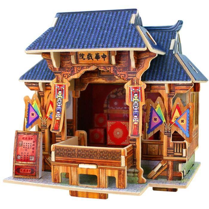 Bricolage Maison Bois Meubles Miniature Puzzle Artesanat Boîte