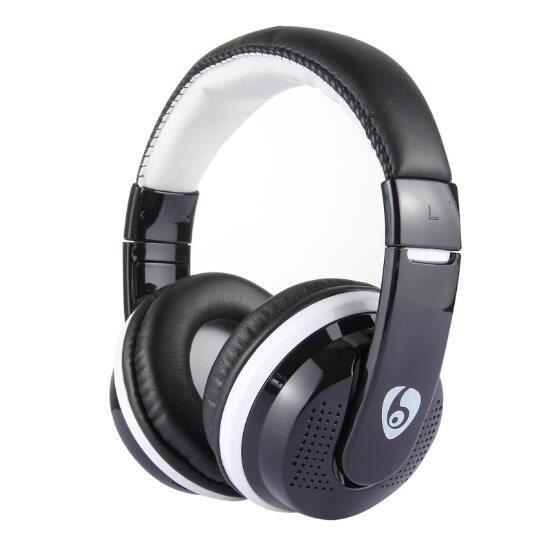 Ovleng Casque Bluetooth Sans Fil Avec Mic Pour Téléphones Support Fm Tf