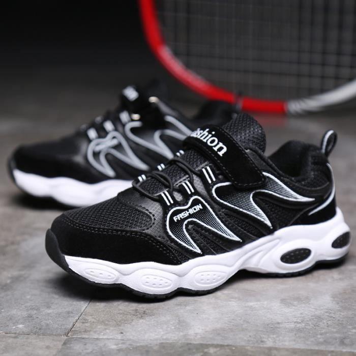 Automne Nouveaux chaussures pour enfants Chaussures antidérapantes Chaussures de course pour garçons et filles Chaussures de sport