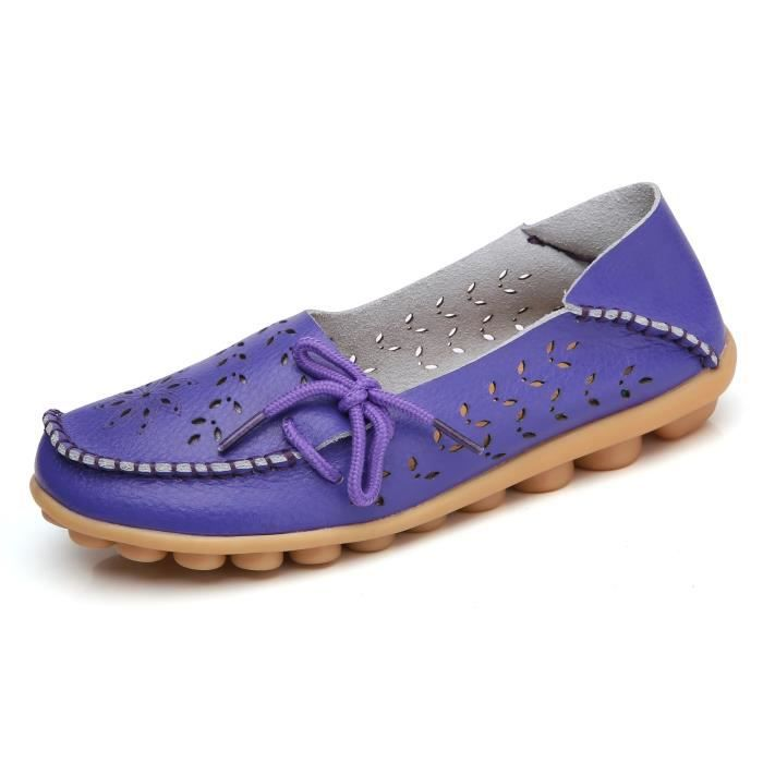 Confort Respirant marche Flat Mocassins YOU0T Taille-42 BrlD2SejYw