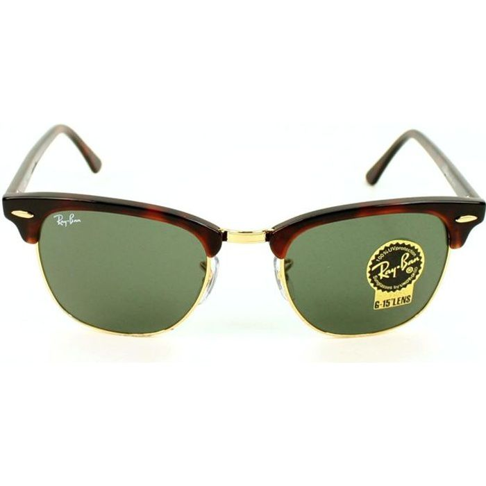 ray ban - clubmaster - rb3016 - dore