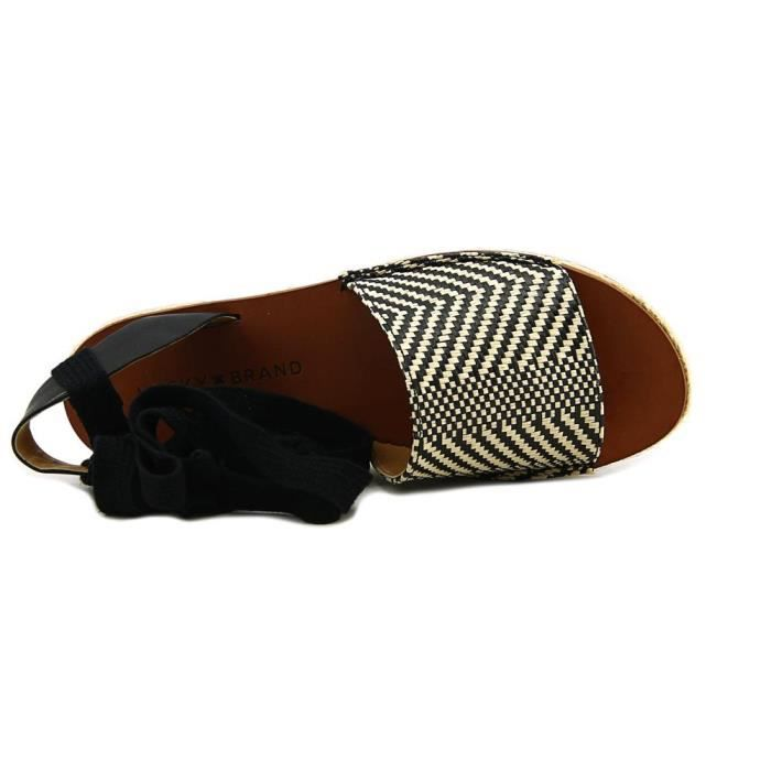 Lucky Brand Daytah Toile Chaussure Plate