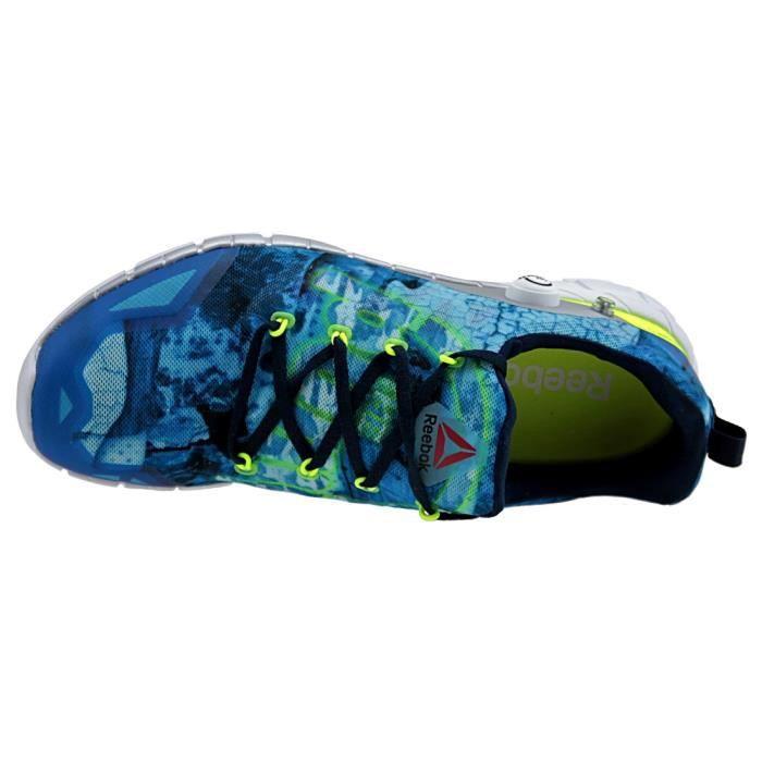 Reebok ZPump Fusion 2.0 Dunes V72616 Homme Baskets Bleu