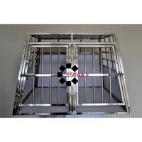 cage box caisse transport voiture chien double s paration achat vente caisse de transport. Black Bedroom Furniture Sets. Home Design Ideas
