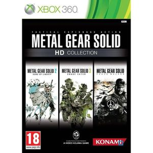 JEU XBOX 360 METAL GEAR SOLID HD COLLECTION / X360