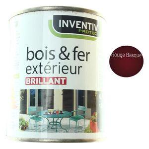 peinture bois exterieur rouge achat vente peinture bois exterieur rouge pas cher cdiscount. Black Bedroom Furniture Sets. Home Design Ideas