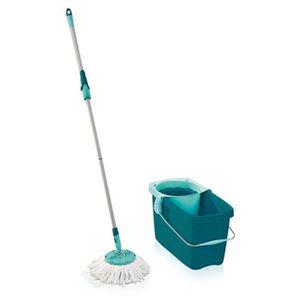 SERPILLIÈRE Leifheit - 52019 - Clean Twist - Mop Plastique Ble