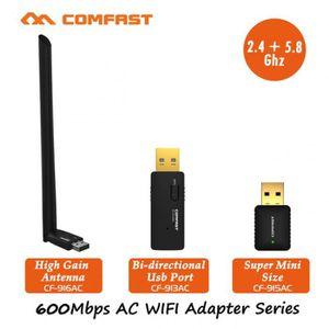 CARTE RÉSEAU  Version CF 915AC -  600 Mbps Usb Wi Fi Adaptateur