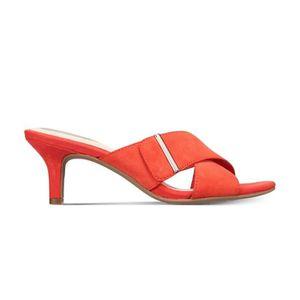 Chaussures à talon orange - Achat   Vente Chaussures à talon orange ... 8352d3a9bc95