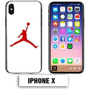 coque iphone x camouflage rouge