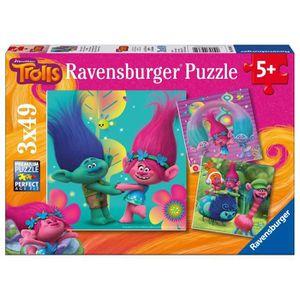 PUZZLE Ravensburger - 09364 - Lot de 3 Puzzles - Le monde