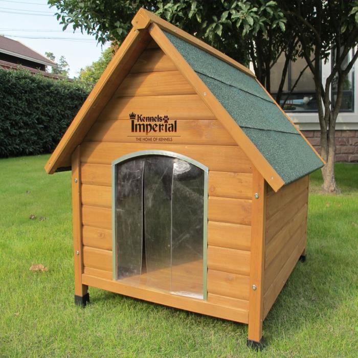 niche en bois pour chien de taille moyenne achat vente niche niche en bois pour chien de. Black Bedroom Furniture Sets. Home Design Ideas