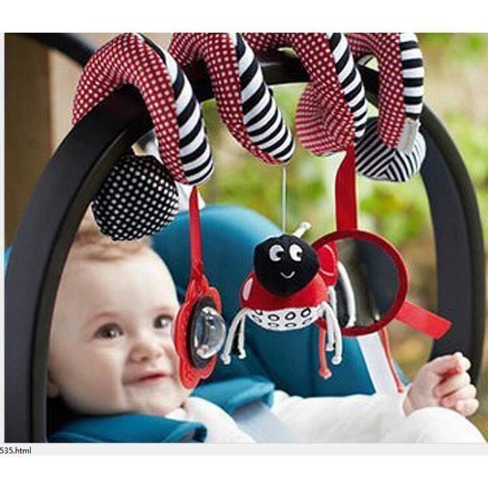 DOUDOU Haut de gamme bébé jouets musique lit en peluche a