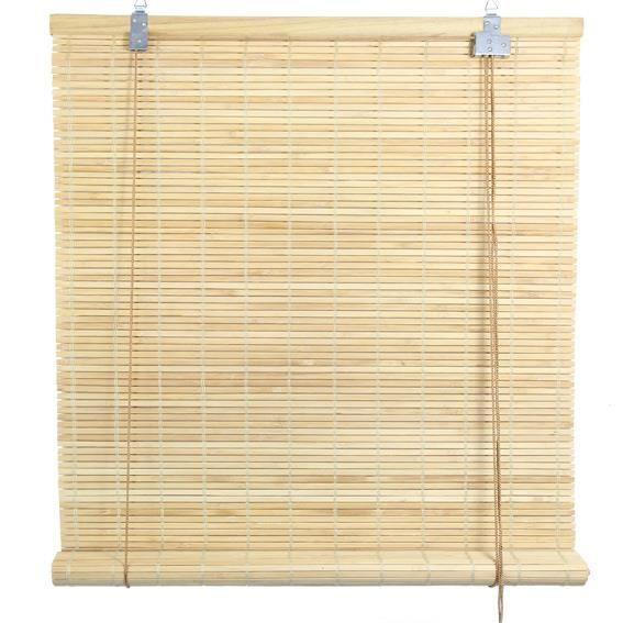 store enrouleur lattes 60 x h130 cm bambou nat achat vente store de fen tre cdiscount. Black Bedroom Furniture Sets. Home Design Ideas