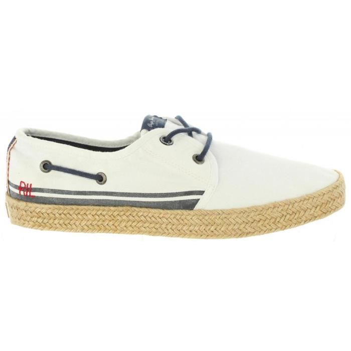 Chaussures pour Homme PEPE JEANS PMS10232 SAILOR 800 WHITE coyB2iU8I