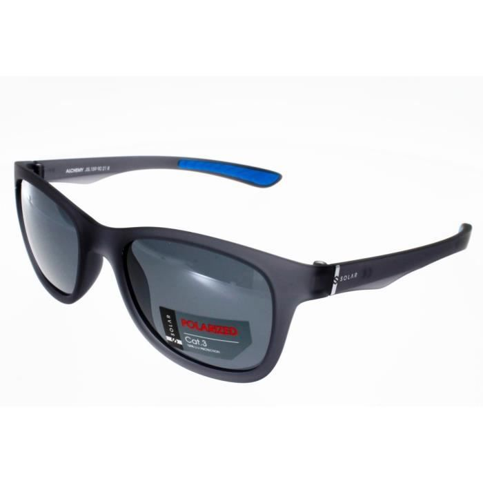 d62db4b9f2 SOLAR ALCHEMY GRIS Mixte Indice 3 Polarisé - Achat / Vente lunettes ...