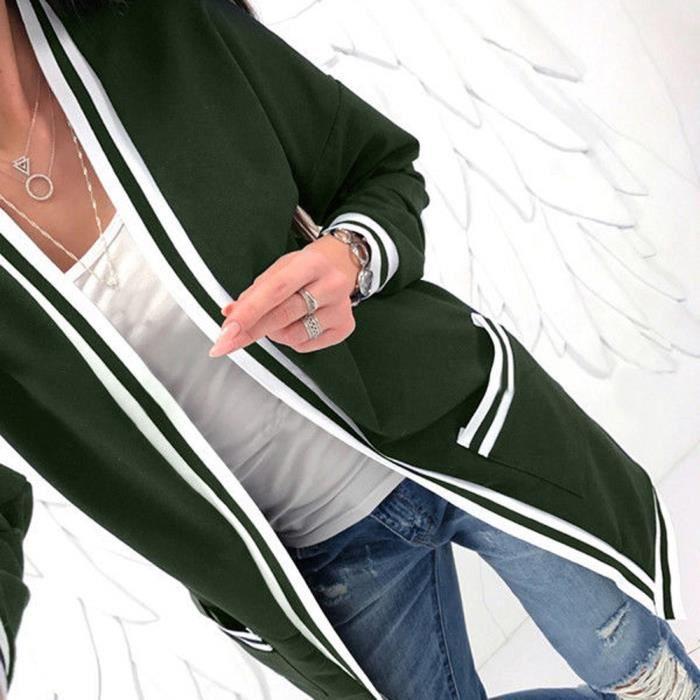 Chandail Manches Tricoté À Vert Hhr2926 Longues Femmes Tops Manteau Tricots Jumper Dames Cardigans 4Utw5