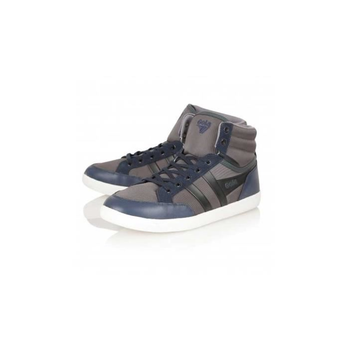 Chaussure Baskets Montant Gola Vicinity Patchwork Black/Brown Homme Pointure 42 Re0UVb3lwl