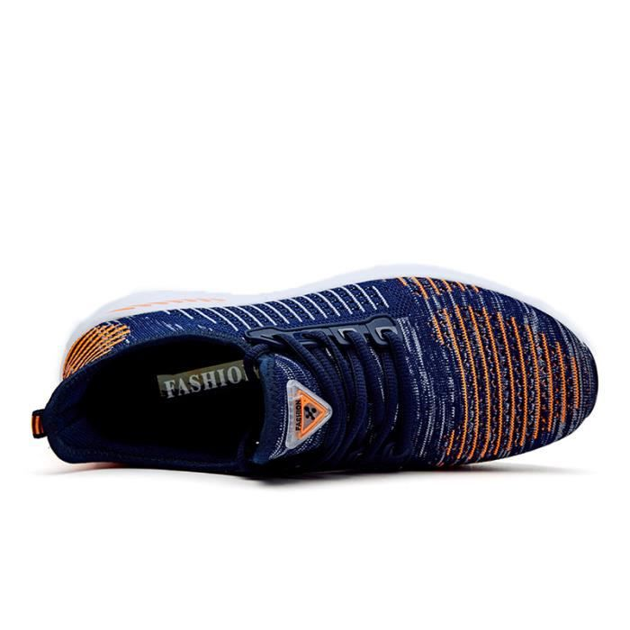 Baskets Hommes Chaussures de sport légères pour femmes Chaussures de sport sportives respirantes