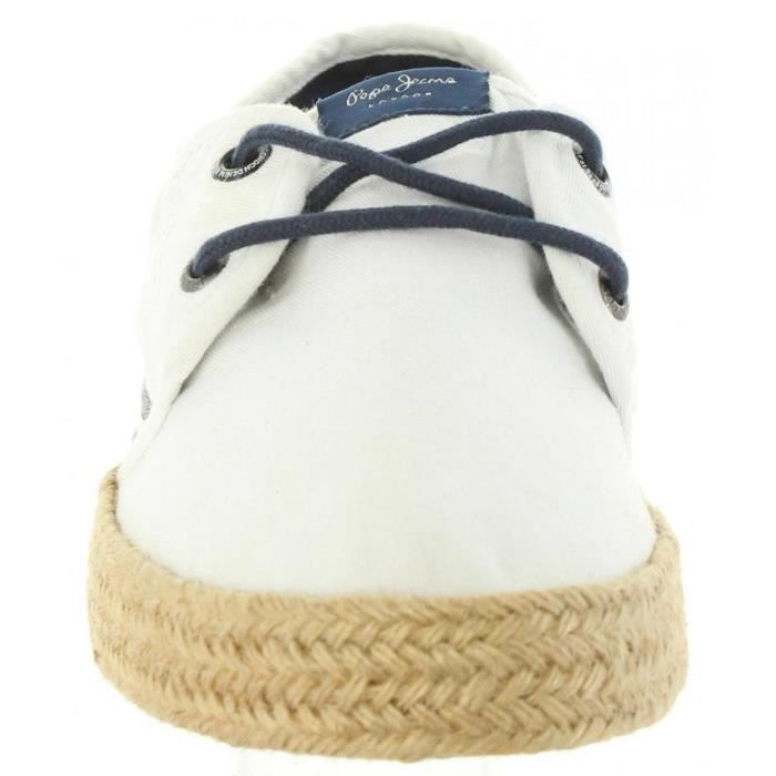 Chaussures pour Homme PEPE JEANS PMS10232 SAILOR 800 WHITE NCyJz5AX