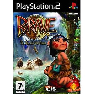 JEU PS2 BRAVE The search for Spirit Dancer