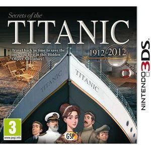 JEU 3DS LES SECRETS DU TITANIC 3DS /Jeu 3DS