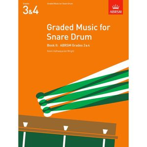 PARTITION Graded Music for Snare Drum, Book II - Grades 3-4,