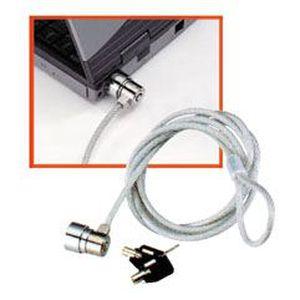 LINDY Câble de sécurité antivol pour ordinateur portable - Acier gainé
