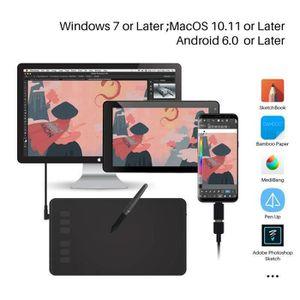 TABLETTE GRAPHIQUE HUION Inspiroy H640P - Tablette Graphique pour PC,