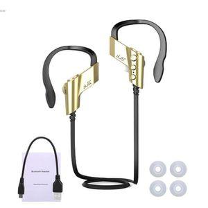 KIT BLUETOOTH TÉLÉPHONE Sport Oreillette Bluetooth sans fil casque écouteu  ... 7040c9122279